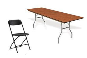 Table & Chair Rentals in Northern Illinois