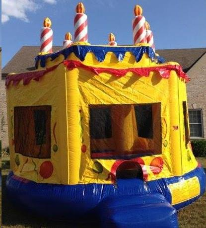Where to find INFLATABLE CAKE JUMPER in Dixon